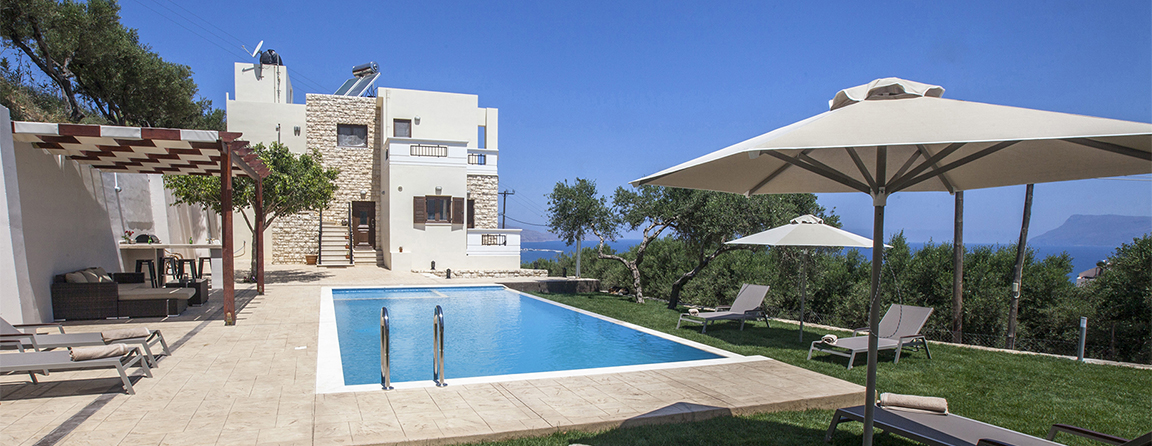villa veghera chania crete kissamos