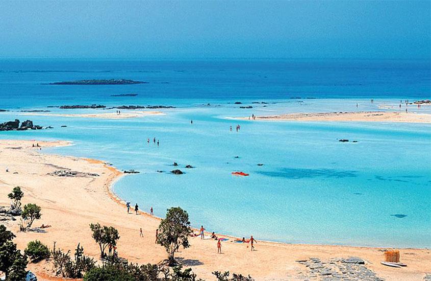 Elafonisi beach near Kissamos, Villa Veghera