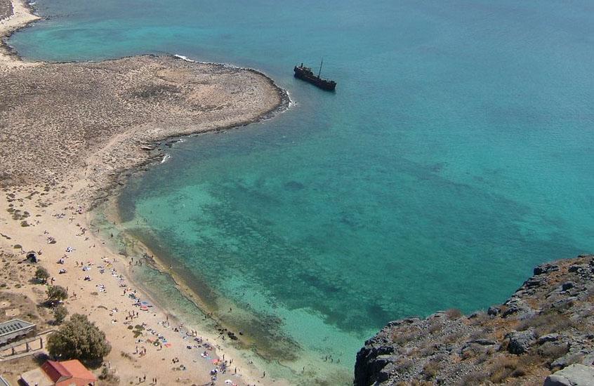 Gramvousa Island near Kissamos, Villa Veghera