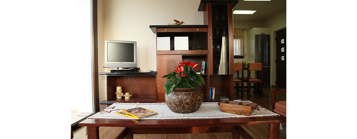 first floor livingroom villa veghera chania crete kissamos