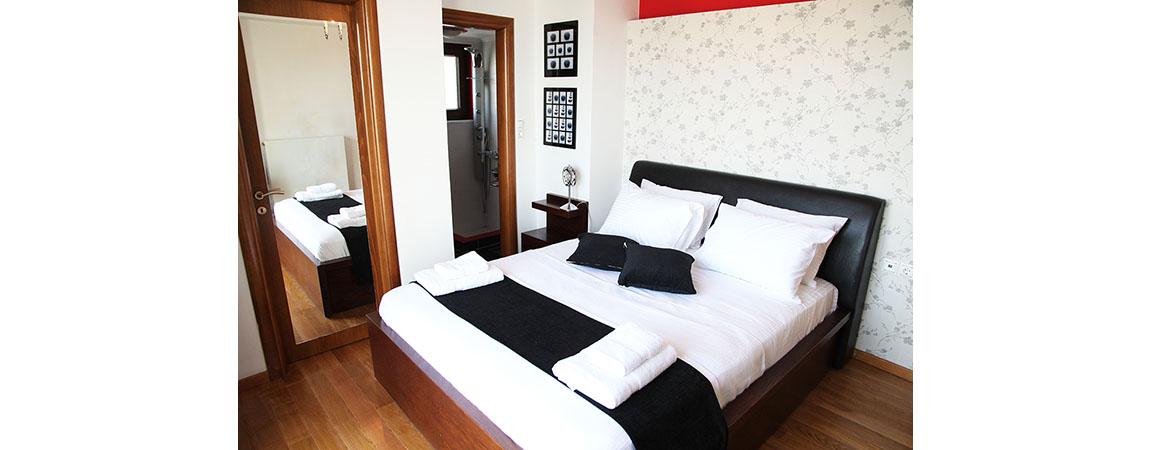bedroom villa veghera chania crete kissamos