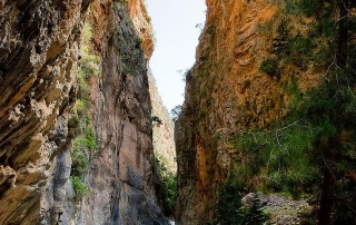 Gates Samaria Gorge Chania