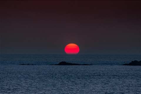 Sunset Falasarna beach Villa Veghera