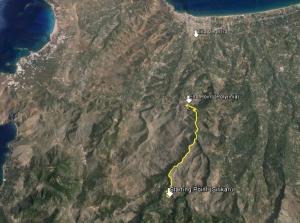 Sirikari Gorge Route