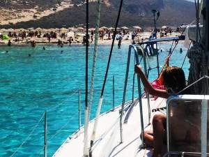 Sail Boat Fantasia in Balos