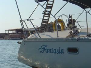 Fantasia Sail Boat