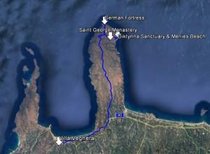 menies safari route